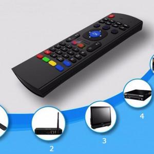 Telecomanda Smart TV cu Tastatura wireless, 2 fete