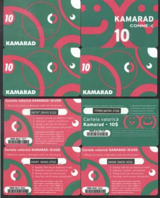 Romania - KAMARAD 4 Telephone card Charging units 10$ CONNEX VODAFONE CT.013 foto