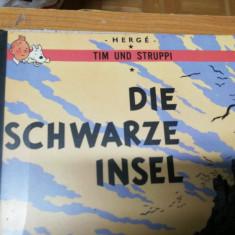 Comic Tim und Struppi Die schwarze Insel Herge Germana