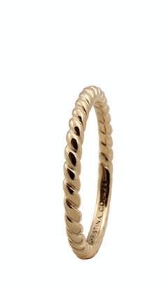 Inel Rope,Argint 925 placat cu aur galben de 18 K, Masura 53