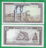= LEBANON - 10 LIVRES - 1986 - UNC  =