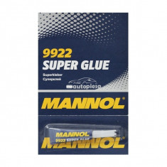 Lipici tip Super Glue MANNOL 2g (blister 6 buc) 23429