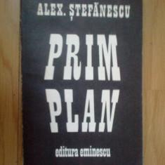 g4 Prim Plan - Alex Stefanescu