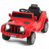 Mașinuță electrică pentru copii cu telecomandă, Rosu