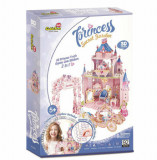 Puzzle 3D + Stickere Gradina Secreta A Printesei, 92 piese, CubicFun
