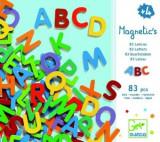 Cumpara ieftin 83 Litere magnetice pentru copii- Djeco