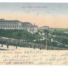 426 - TURNU-SEVERIN, Park, Romania - old postcard - used - 1904, Circulata, Printata