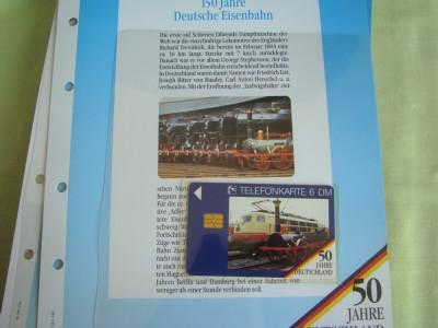 """3 Cartele Telefonice """"50 Jahre Deutschland"""" - Exponate NOI / 17 foto"""