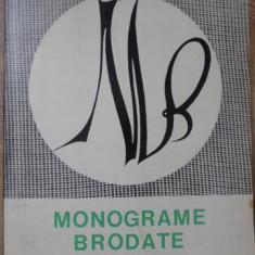 MONOGRAME BRODATE - ECATERINA TOMIDA