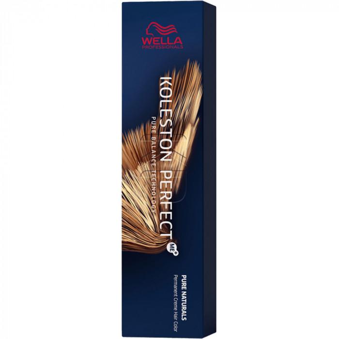 Koleston Perfect Me + Pure Naturals Vopsea de par permanenta 4/0 Medium Brown
