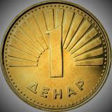 Moneda 1 Denar - MACEDONIA 2008 *cod 1963 xF