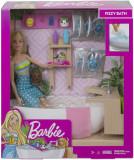 Papusa Barbie - Set o baie relaxanta