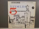 Vivaldi – 5 Oboe Concertos (1965/StereoVox/USA) - VINIL/NM+, emi records