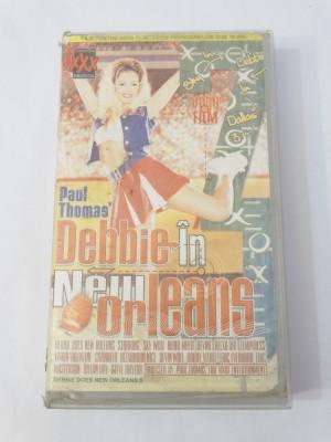 Caseta video VHS originala film tradus Ro XXX - Debbie in New Orleans foto