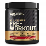 Proteină PRE WORKOUT GOLD STANDARD fructe 330 gr., Optimum Nutrition