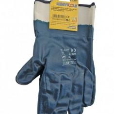 Manusi protectie, nitril albastru, CE LT74153
