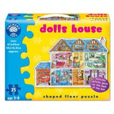 Puzzle de podea - Casa papusilor