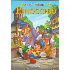 Hai sa coloram! Pinocchio PlayLearn Toys