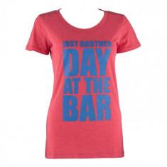 Capital Sports Heather CAPITAL sportiv tricou pentru femei Dimensiune L,rosu