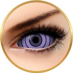 Fantaisie Sclera Rinnegan Purple - lentile de contact pentru Halloween anuale - 365 purtari (2 lentile/cutie)