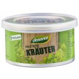 Pate Vegetal cu Ierburi Aromatice Bio 125 grame Dennree Cod: 411039