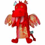 Marioneta de mana Dragonul Rosu Fiesta Crafts FCT-2363