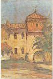 bnk cp Targoviste - G Petrascu-Clopotnita de la Curtea Veche-Vedere necirculata