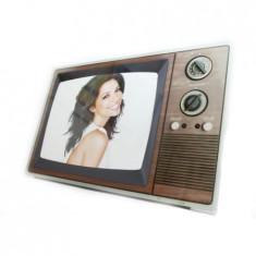 Rama fotografii, Model televizor vintage, 18x13 cm