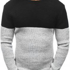 Pulover pentru bărbat negru Bolf 164