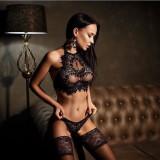 Set Bikini si sutien din dantela model Monica