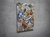Cumpara ieftin Tablou decorativ pe panza Majestic, 257MJS1235, Multicolor