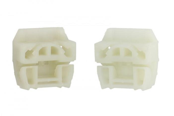 Kit reparatie macara geam fata stanga dreapta 2 ghidaje VW MULTIVAN V, TRANSPORTER V intre 2003-2015