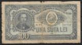 România - 100 lei - 1952 (B0181) - starea care se vede