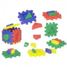 Joc de creatie - Blocuri Multicolore, Playshoes
