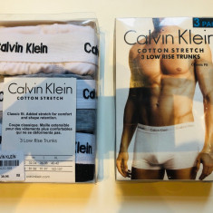 Set 3 Boxeri Calvin Klein bumbac calitate la oferta, Din imagine, L