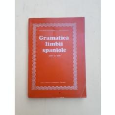 GRAMATICA LIMBII SPANIOLE - CONSTANTIN DUHANEANU