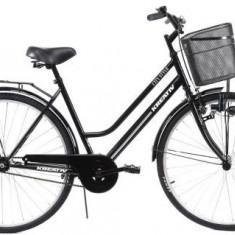 Bicicleta Dama Kreativ 2812, Cadru 19.9inch (Negru)