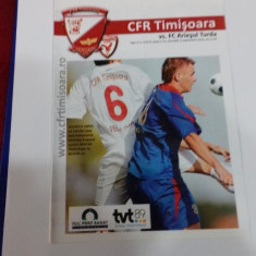 program         CFR  Timisoara   -  Ariesul  Turda