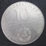 Germania (Republica Democrata) :10 mark _a XX a aniv. a Pactului de la Varsovia, Europa, Cupru-Nichel