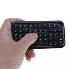 Mini tastatura wireless, ultra subtire, negru, Gonga