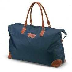Geanta mare sport sau voiaj, poliester, Everestus, GV3, albastru, saculet de calatorie si eticheta bagaj incluse