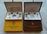 Seturi monede euro Vatican 2009 si 2011 - Proof
