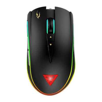 Mouse Gaming Gamdias Zeus P2 RGB Black foto