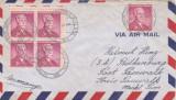Statele Unite 1956 - Vignete Ajutor Copii Invalizi