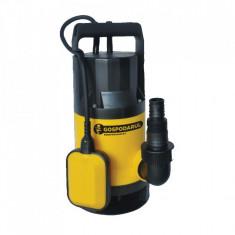 Pompa submersibila apa murdara QDP-550-F, 550W, 8000L/h