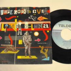 "Pepe Goes to Cuba - Kalimba de Luna (1984, Teldec) Disc vinil single 7"""