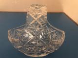 Bomboniera germana,cos din cristal
