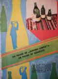 1985 Reclama APE MINERALE VATRA DORNEI 24 x 16,5 cm comunism AURORA LAMAIE