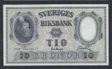 A5171 Sweden Suedia 10 kronor 1958 SEMNATURI DIFERITE UNC