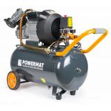 Compresor Aer ComprimaAt 50L 2 Pistoane POWERMAT TransportGratuit